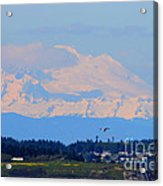 Mt. Baker Of Pacific Northwest Acrylic Print