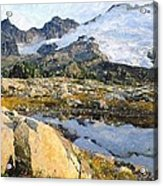Mt Baker Washington State Acrylic Print