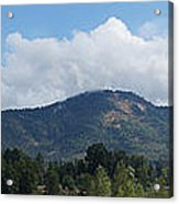 Mt Baldy Panorama From Grants Pass Acrylic Print
