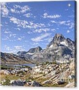 Mt Banner Acrylic Print
