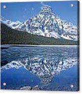 1m3641-mt. Chephren Reflect Acrylic Print