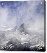 Mt. Earnslaw - New Zealand Acrylic Print