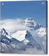 Mt Everest, From Mt Everest Base Camp Acrylic Print