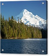 Mt Hood And Lost Lake Acrylic Print