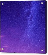 Mt. Hood Milky Way 01 Acrylic Print