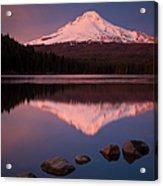 Mt Hood Reflection Acrylic Print