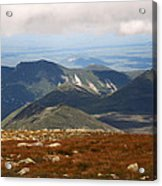 Mt. Katahdin Tablelands Acrylic Print