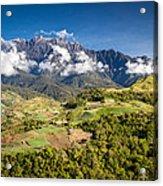 Mt. Kinabalu - The Highest Mountain In Borneo Acrylic Print