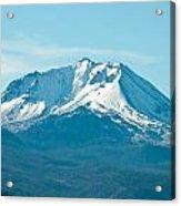 Mt Lassen  Acrylic Print