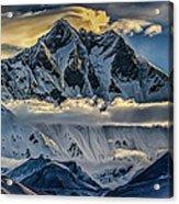Mt Lhotse Acrylic Print
