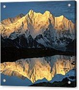 Mt Makalu And Mt Chomolonzo Acrylic Print