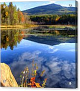 Mt. Monadnock Reflection Acrylic Print