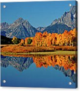 Mt. Moran Reflection Acrylic Print