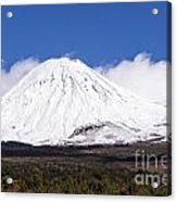 Mt. Ngauruhoe Acrylic Print