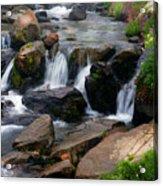 Mt Rainier Mountain Stream Acrylic Print