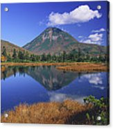 Mt Rausudake Hokkaido Japan Acrylic Print