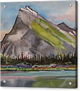 Mt. Rundle Acrylic Print
