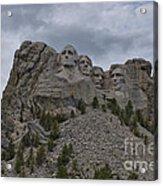 Mt Rushmore Acrylic Print