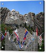 Mt. Rushmore Acrylic Print