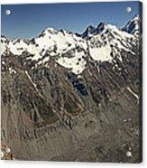 Mt Sefton Hooker Glacier And Mt Cook Acrylic Print