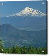 1a5637-mt. Shasta From Oregon Acrylic Print