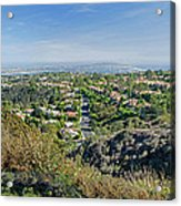 Mt. Soledad - View To The South Acrylic Print