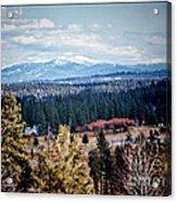 Mt. Spokane Acrylic Print