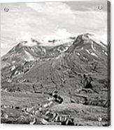 Mt St Helen's Acrylic Print