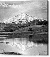 Mt. Tamalpais In Snow Acrylic Print