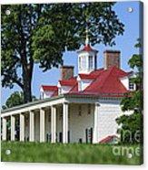 Mt Vernon Mansion Acrylic Print