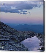 Mt. Washington  Blue Hour Acrylic Print