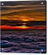 Mt Wilson Sunset 2 Acrylic Print