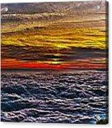 Mt Wilson Sunset Acrylic Print