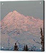 Mt.redoubt Acrylic Print