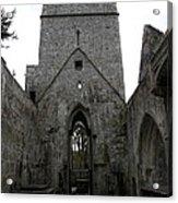 Muckross Abbey Steeple Acrylic Print