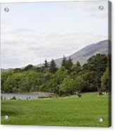 Muckross Lake And Garden Acrylic Print