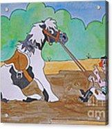 Mud Pony Acrylic Print