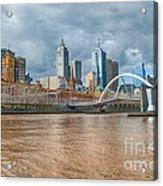Muddy River Acrylic Print