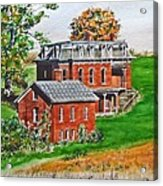 Mudhouse Mansion Acrylic Print