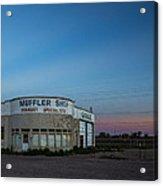 Muffler Shop Acrylic Print