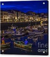 Mugardos Port Galicia Spain Acrylic Print