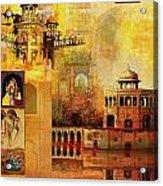 Mughal Art Acrylic Print