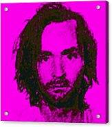 Mugshot Charles Manson M88 Acrylic Print by Wingsdomain Art and Photography