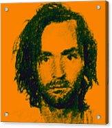 Mugshot Charles Manson P0 Acrylic Print by Wingsdomain Art and Photography