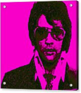 Mugshot Elvis Presley M80 Acrylic Print by Wingsdomain Art and Photography