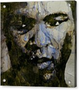 Muhammad Ali  A Change Is Gonna Come Acrylic Print