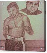 Muhammad Ali Acrylic Print by Christy Saunders Church