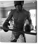 Muhammad Ali Works Out  Acrylic Print by Retro Images Archive