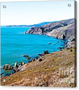 Muir Beach Lookout North View Acrylic Print