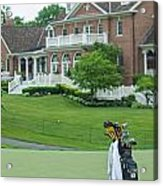 D12w-289 Golf Bag At Muirfield Village Acrylic Print